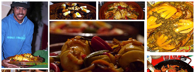 Learn how to prepare moroccan food.