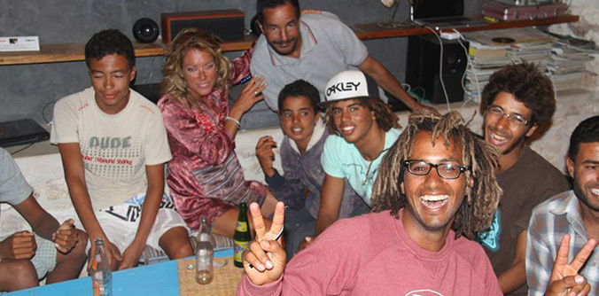 Boujmaa Guillou - The best, best, best Moroccan windsurfer!