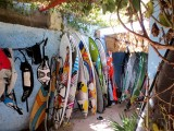 El Mouja Surf House storage