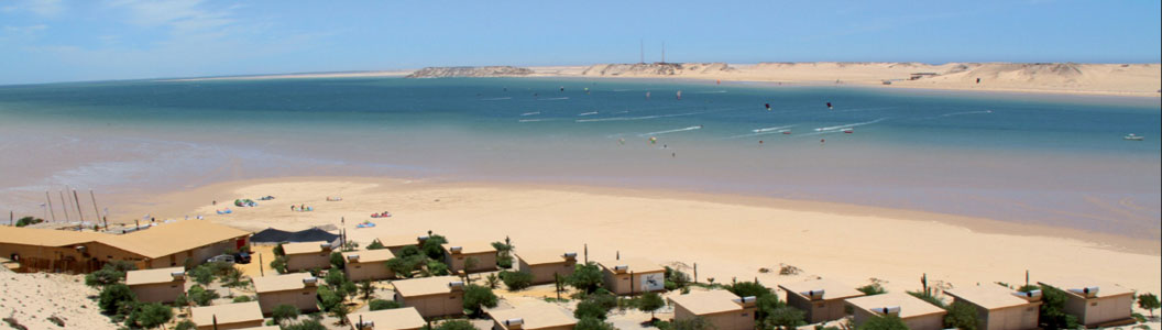 Dakhla windsurfing and kitesurfing spot