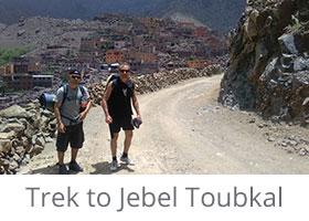 Trek to Jebel Toubkal