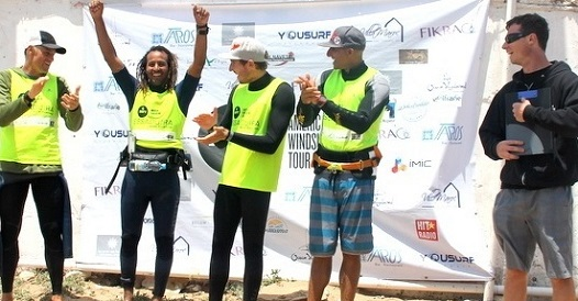 Boujmaa Guilloul wins American Windsurfing Tour in Morocco