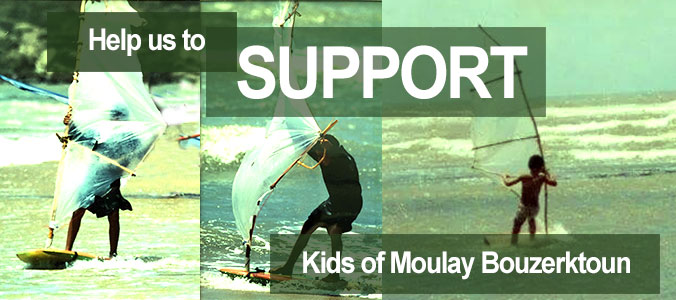 Help us to support Kids of Moulay Bouzerktoun