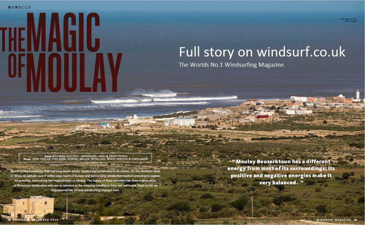 THE MAGIC OF MOULAY - WINDSURF MAGAZINE
