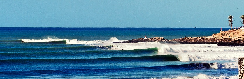 Taghazout surf spot Morocco